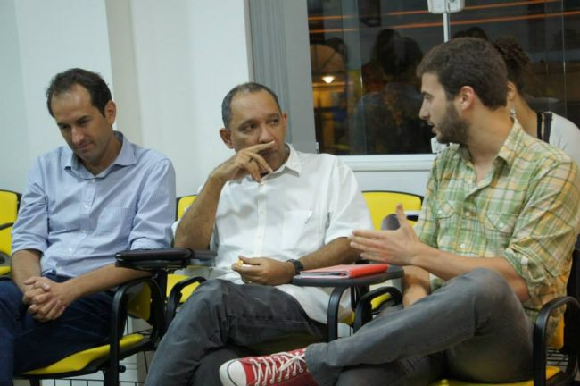 José Marcelo Zacchi, da Casa Fluminense, Átila Roque, Anistia Internacional, e Miguel Lago, do Meu Rio