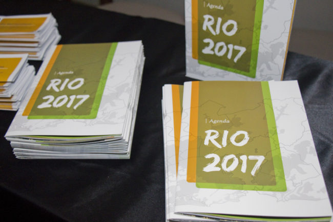 Lançamento Agenda Rio 2017. Teatro Rival, RJ, 26/07/2016
