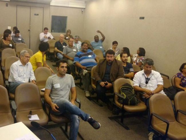Reunião do Fórum na Câmara Vereadores do Rio