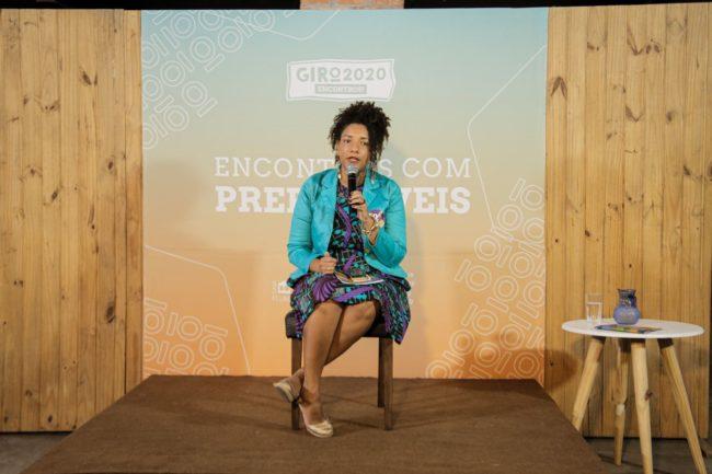 Renata Souza (PSOL) foi a segunda candidata à prefeitura do Rio de Janeiro a participar do debate.